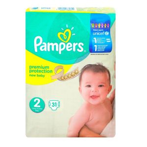 Pampers couches premium protection T2 x31