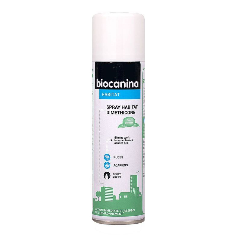 Biocanina - Spray habitat diméthicone 200mL