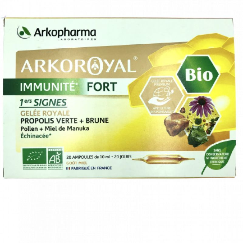 Arkoroyal Immunite Fort 20 amp 10mL