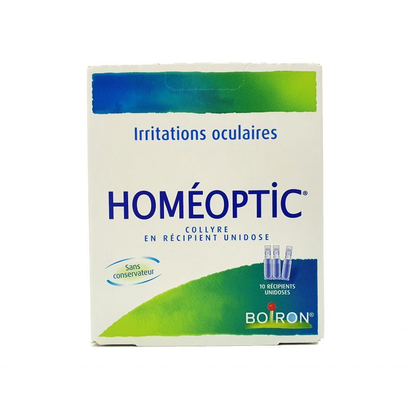 Homeoptic collyre 10 unidoses