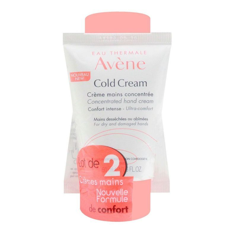 Avene Cold Cream Crème Mains 2x50ml
