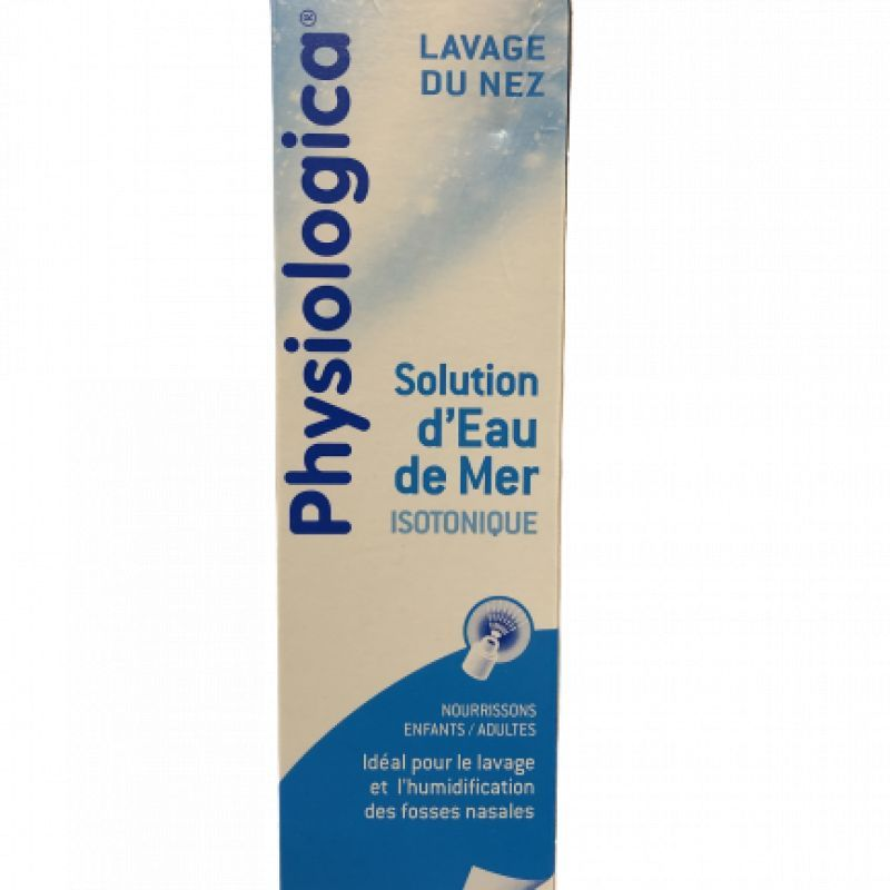 Physiologica Solution nasale d'eau de mer isotonique + 100mL
