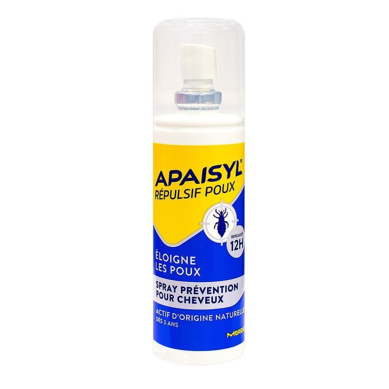 Apaisyl - Poux prévention spray 90mL