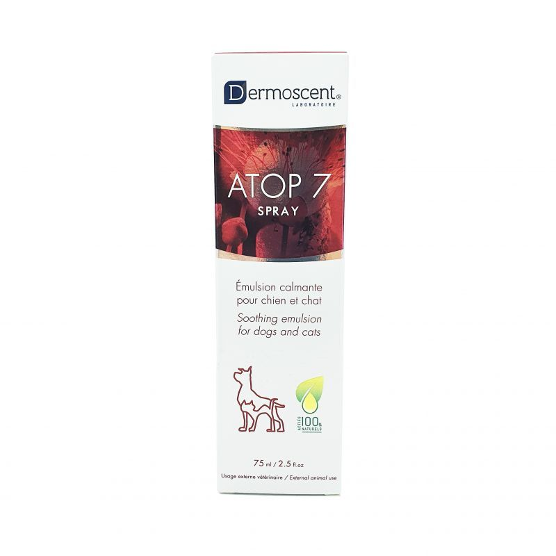 Dermoscent Atop 7 Chien/Chat Spray 75mL